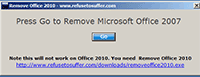 Remove Office 2007 1.0